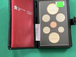 1981 Canada Double Dollar Coin Set