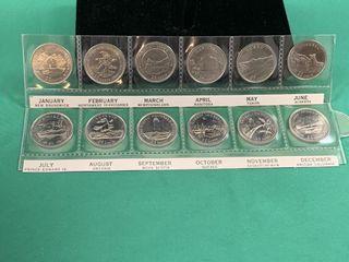 1992 125th Confederation Quarter Set
