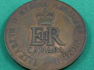 1953 Queen Elizabeth Coronation Commemorative