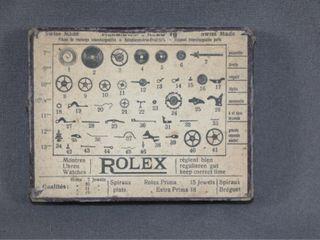 Rolex Watch Parts Box   Cardboard