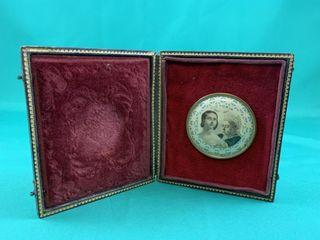 19th C Pin Queen Victoria Diamond Jubilee Photo