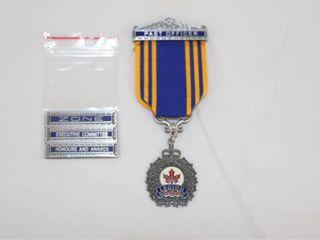 Canadian legion Medal