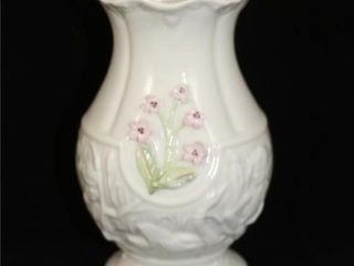 Belleek Vase  Visitors Exclusive