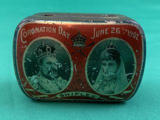 1902 Coronation Day King Edward VII   Alexandra