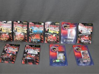 10 die cast cars in packages