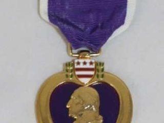 Purple Heart Military U S  Medal