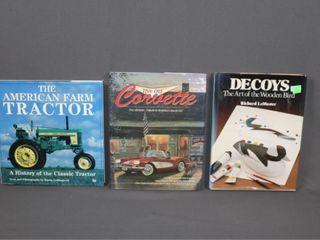 Decoys  Tractors  Corvette Books
