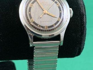Vintage Mido Running Multifort Powerwind Watch