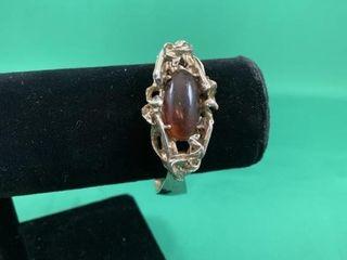 Amber Art Deco Bracelet