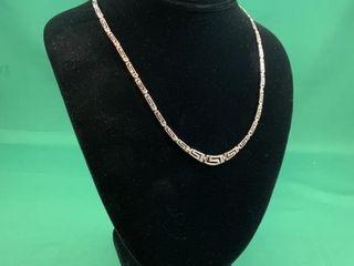 Sterling Silver Greek Key Bracelet