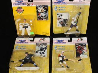 4 Starting lineup Hockey Figurines