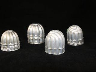 Quantity of Metal Jello Molds