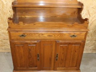 Oak Dry Sink