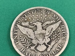 1895 American 50 Cent Piece