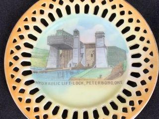 Peterboro Hydraulic lift lock Souvenier Plate