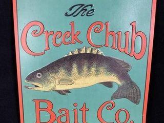 Creek Chub Bait Co Sign