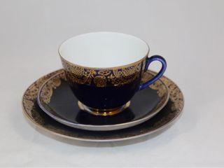 3 Piece Cup and Saucer Set