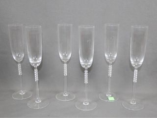 6 Rosenthal Champagne Glasses