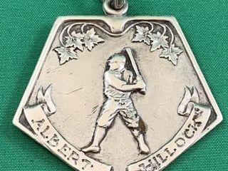 1929 Toronto Sterling Silver Baseball Medal