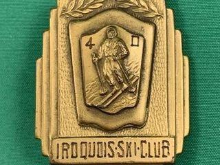 1940 Iroquois Ski Club ladies Slalom First Place