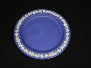 Dark Blue Wedgewood Plate