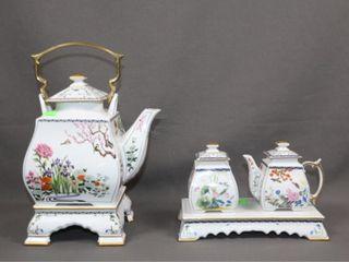 Franklin Mint Tea Set