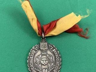 Vintage Sterling Silver 91st Athletic Association