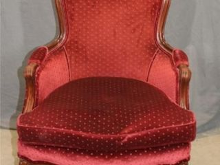 Red Walnut Arm Chair