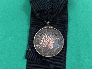 1911 Royal life Saving Society Medal and Ribbon