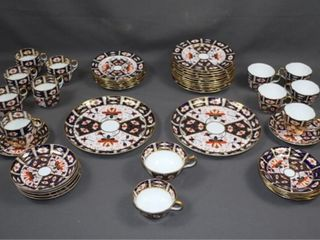 Royal Crown Derby Partial Dish Set