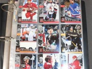 lot of Upper Deck 97 98 Hockey Cards