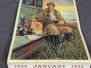 Remington 1926 Calendar