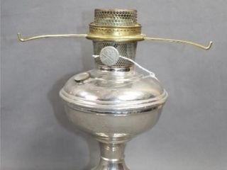 1920s Original Model 11 Nickel Plated Aladdin Oil