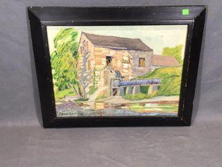 Mill Oil Painting by Parker DendvanIJ
