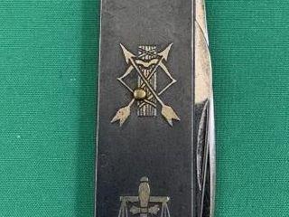C1910 Rare Masonic Jack Knife