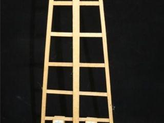 Vintage German Clothes Peg Race down ladders