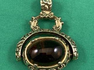 Ornate Jewelled Pocketwatch Fob