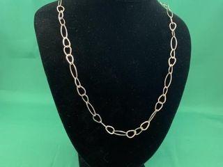 Sterling Silver Designer Open link Chain