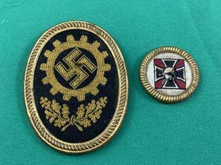 WWII Nazi Uniform Badges