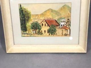 House Watercolour