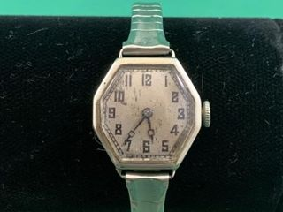 14K White Gold Rolex Women s Wristwatch