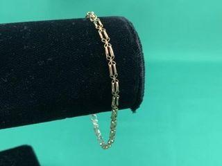 9K Gold Bracelet