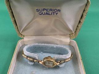 14K Gold Birks Women s Wristwatch
