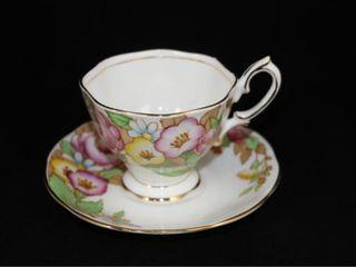 Royal Albert Bouquet Teacup and Saucer