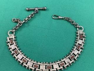C1920 Men s Silver Watch Chain