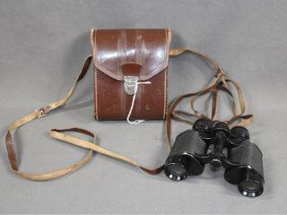 Vintage Cased French Homa Binoculars
