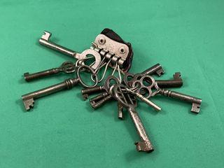 lot of 12 Antique Furniture Keys