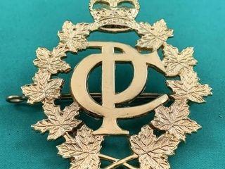 Vintage Canada Post Hat Badge