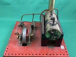 Vintage English Mamod Two Piston Steam Engine