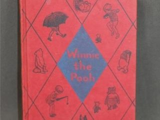 1925 Winnie the Pooh by A A  Milne